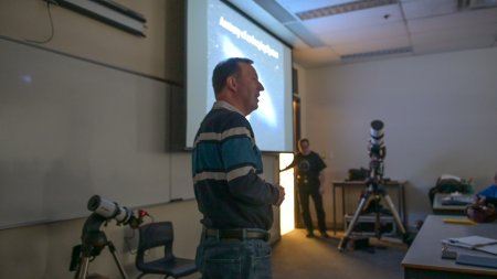 "Blair MacDonald presents ""Anatomy of an Imaging System: What toys do you need to take long exposure deep sky images?"""